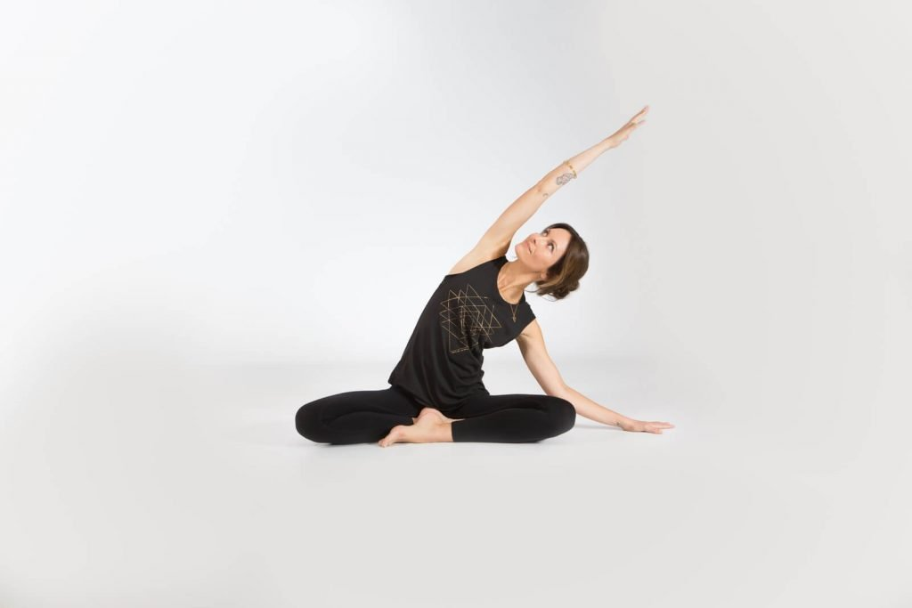 Seated Lateral Stretch
