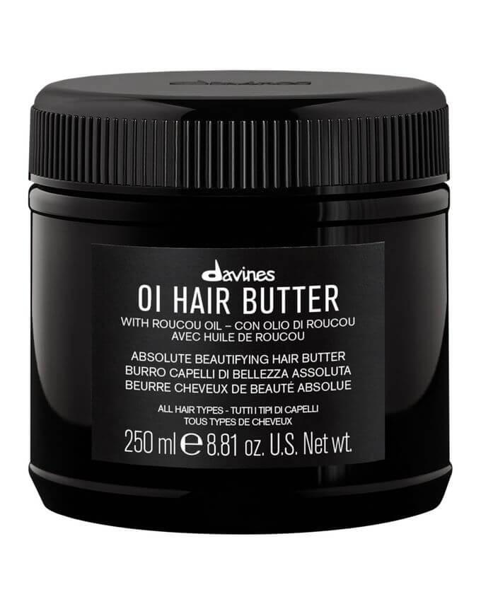 Dry hair butter