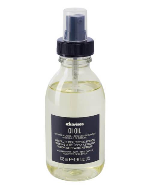 dry hair oil