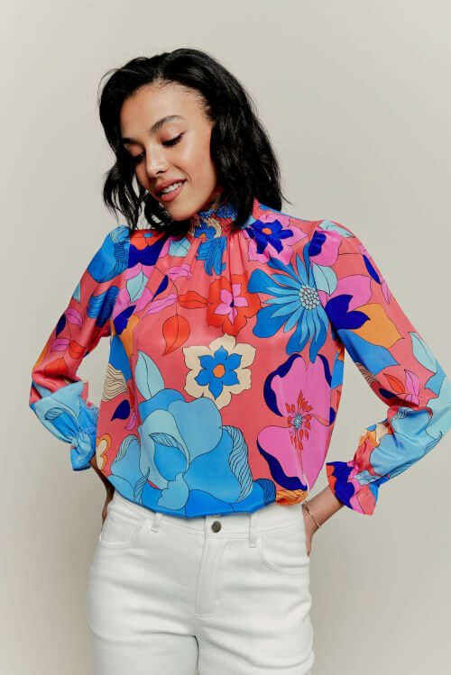 Tucker blouse