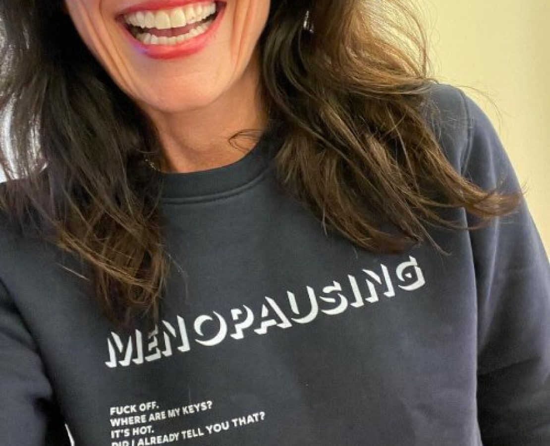 Davina menopause