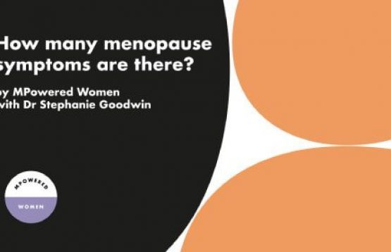 what are the 34 symptoms of the menopause?