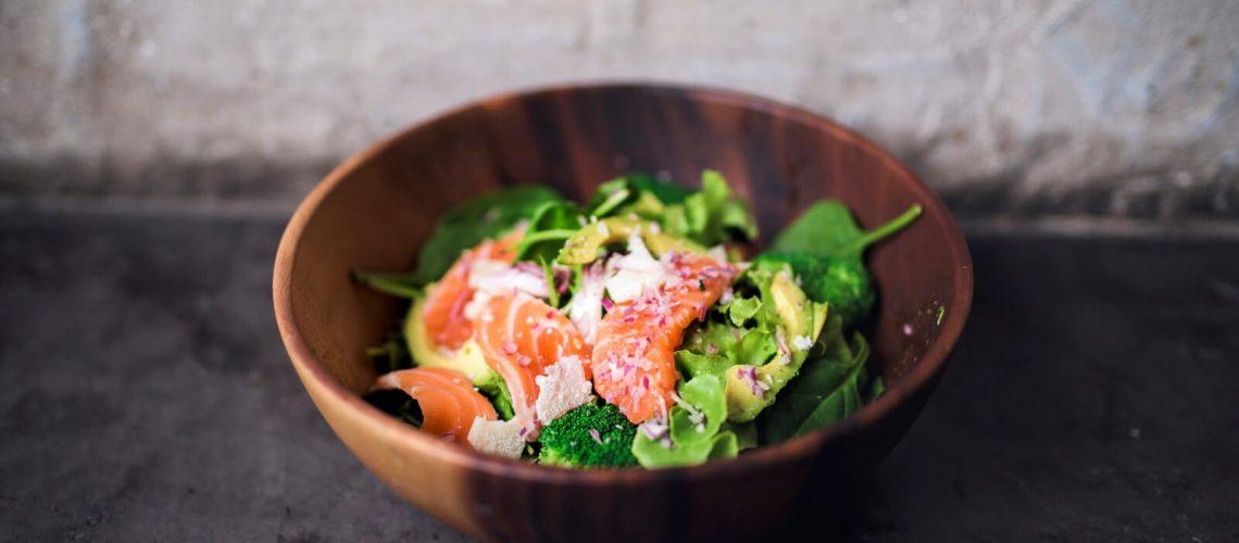 raw fish salad